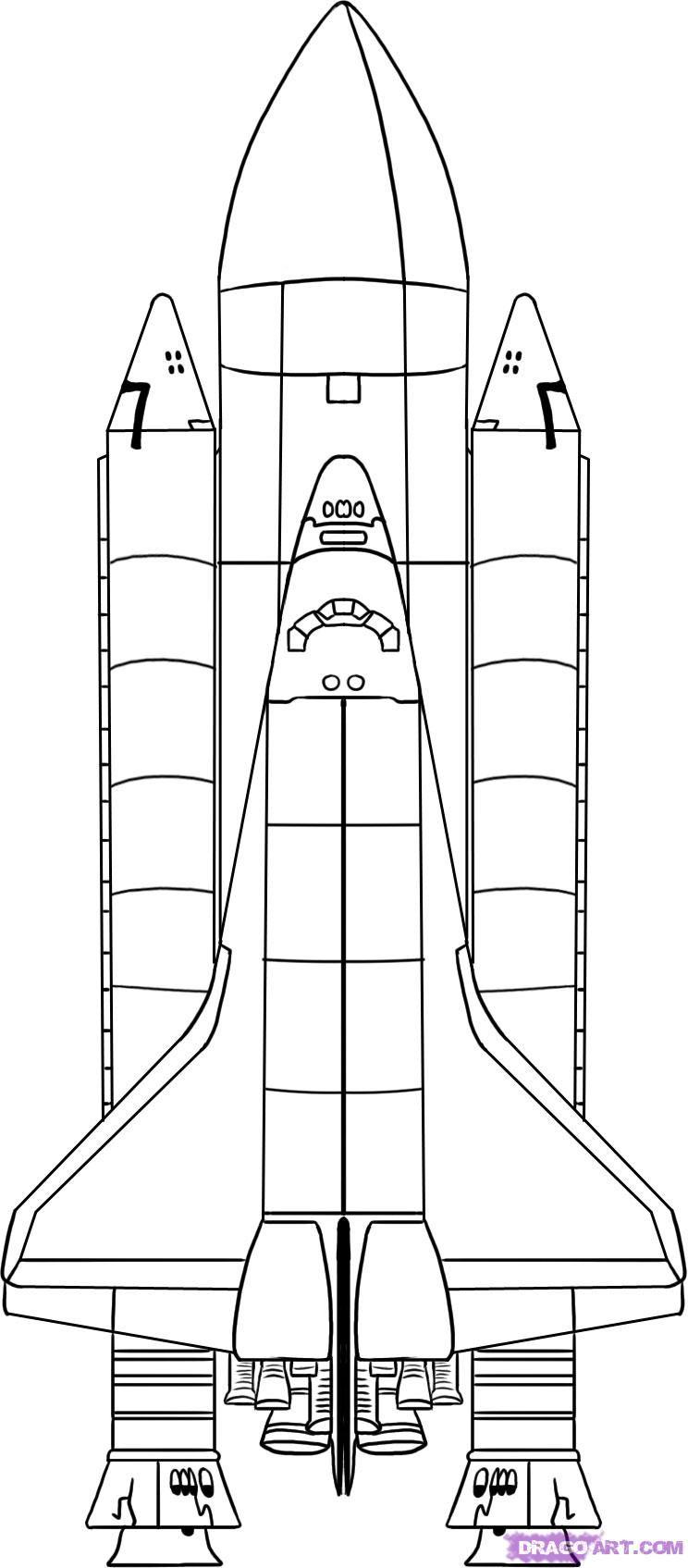 Spaceship Coloring Sheet #mkblueridge #MacKid #