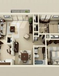 two bedroom apartment house plans also open rh es pinterest