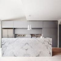 19 of the Most Stunning Modern Marble Kitchens | Marble ...