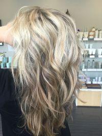 Sandy blonde, light blonde, pale blonde, dimensional ...