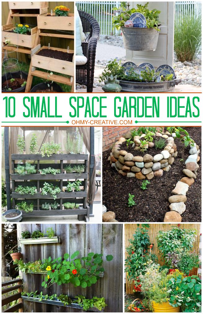 1o Small Space Garden Ideas Gardens Small Spaces And Rocks