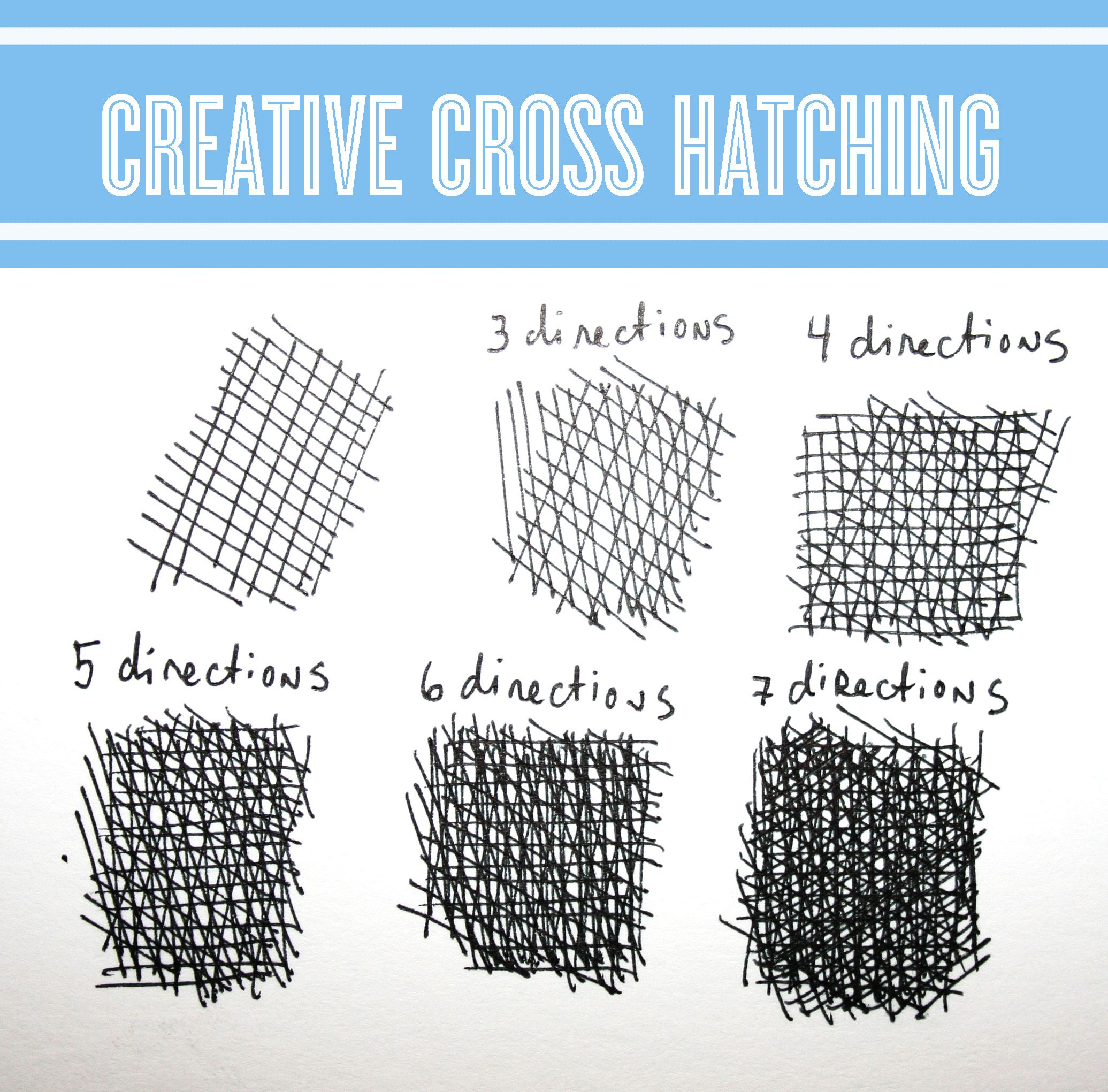 Drawing Workshop Creative Cross Hatching Techniques