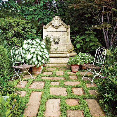 Secret Garden Step Into An Oasis Trees And Shrubs Garden