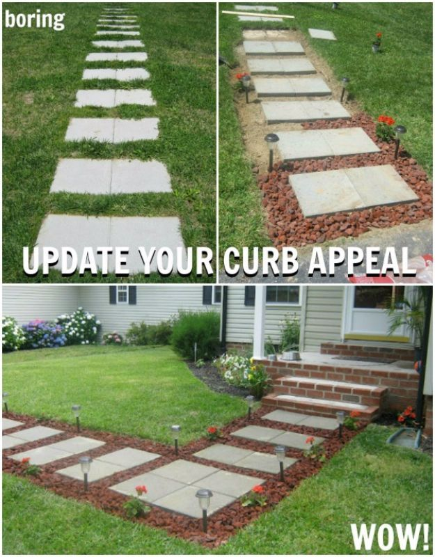 42 DIY Ideas To Increase Curb Appeal Box Houses Curb Appeal And