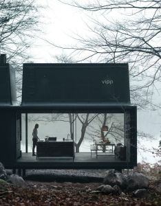 Vipp shelter is  minimalist prefabricated house designed by danish design company it   full package from architecture to furniture tableware also annaleenas hem home decor and inspiration inspiringarchitecture rh pinterest