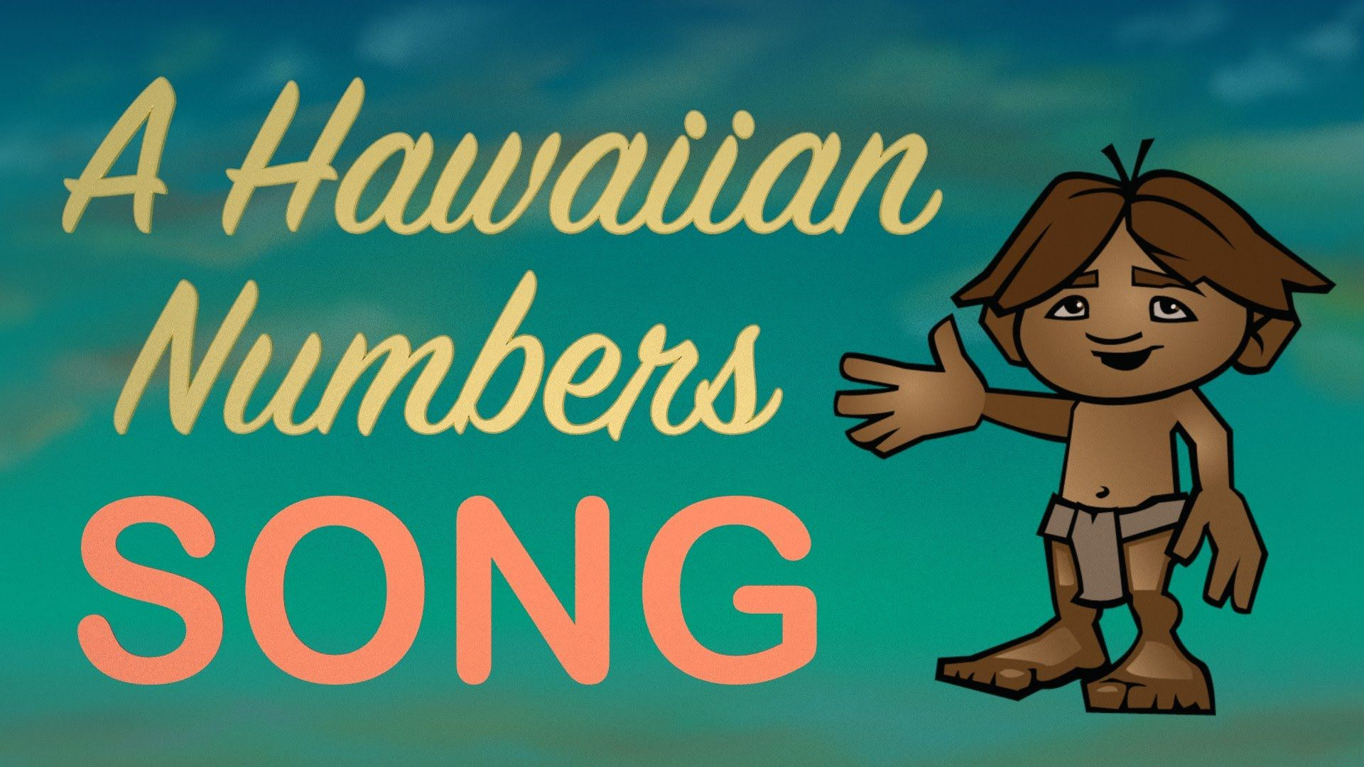 Learn The Hawaiian Numbers From 1 To 10 In Lelo Hawai I
