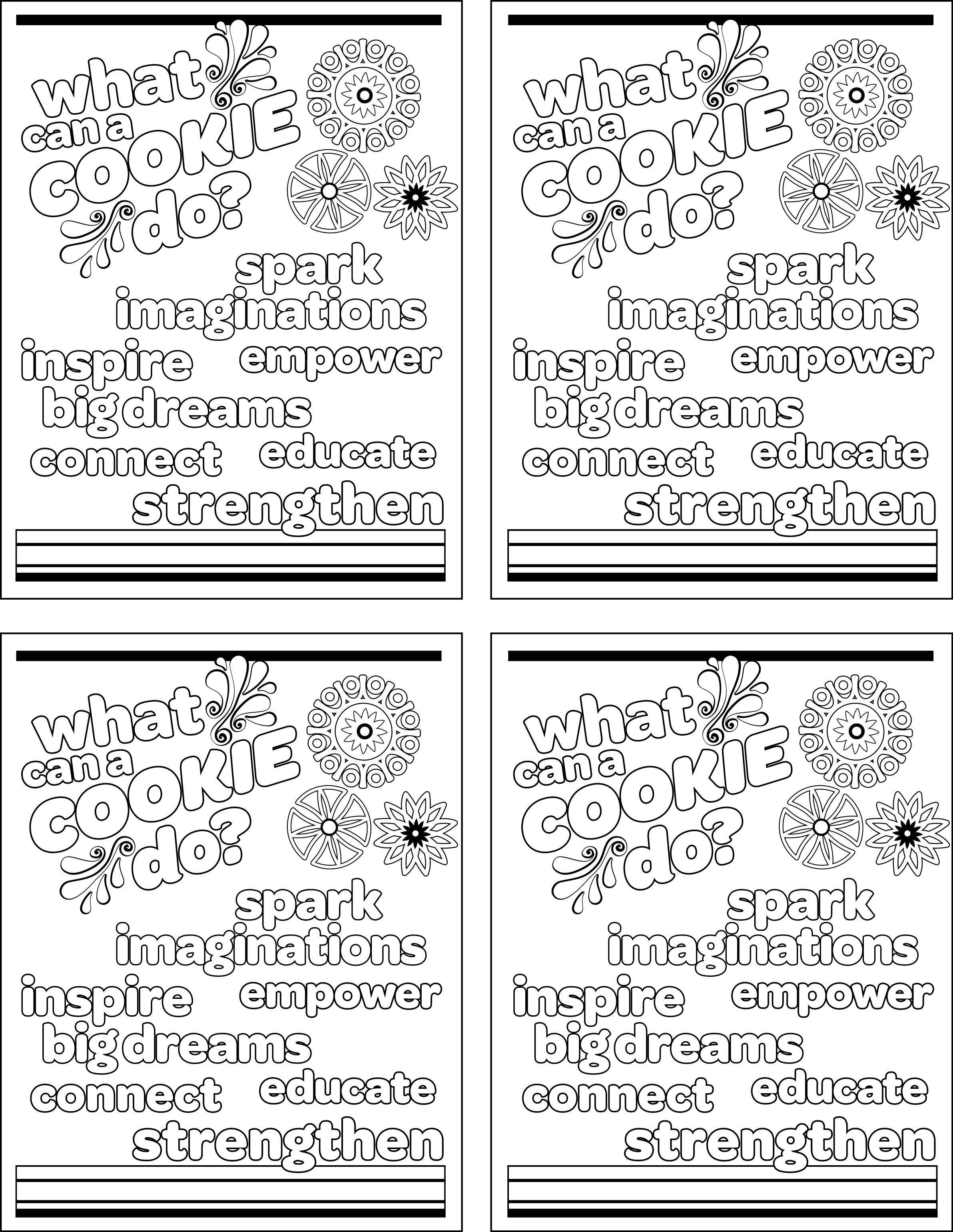 Girl Scout Brownie Clip Art Coloring Sheets