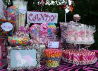 1st Birthday Candy Table