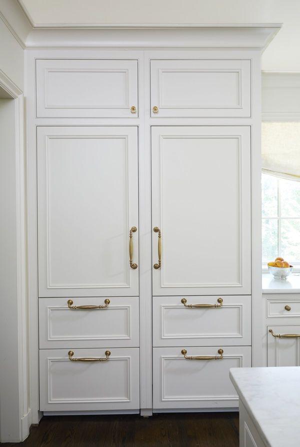 Stately  Subdued A Classic White Kitchen  Subzero