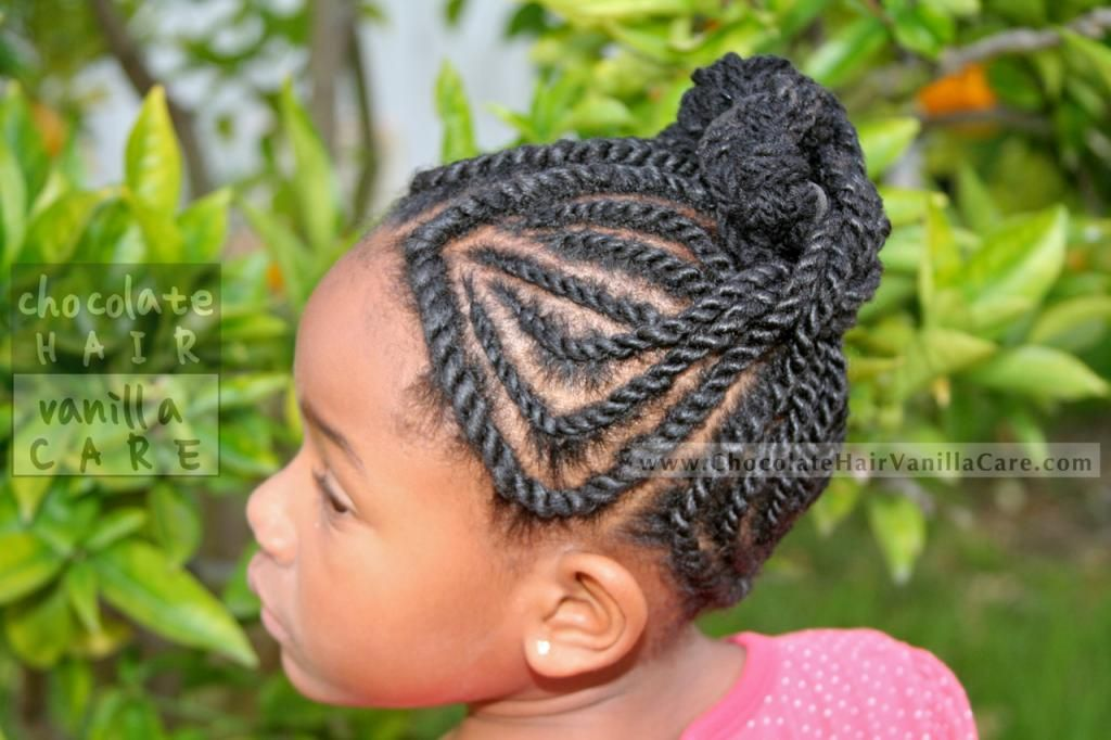 Versatile Yarn Flat Rope Twists Protective Up Do #Hairstyle