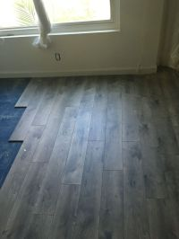 Pergo XP Southern Grey Oak Laminate flooring Home Depot ...