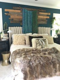 Boho Glam Bedroom by Blissfully Eclectic