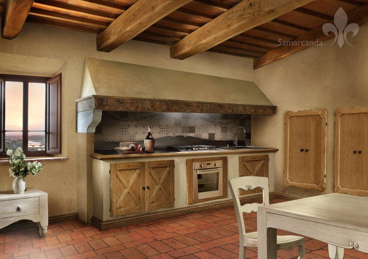 GRANDE CAPPA CUCINA RUSTICA  Cerca con Google  Idee per la casa  Pinterest  Cucina