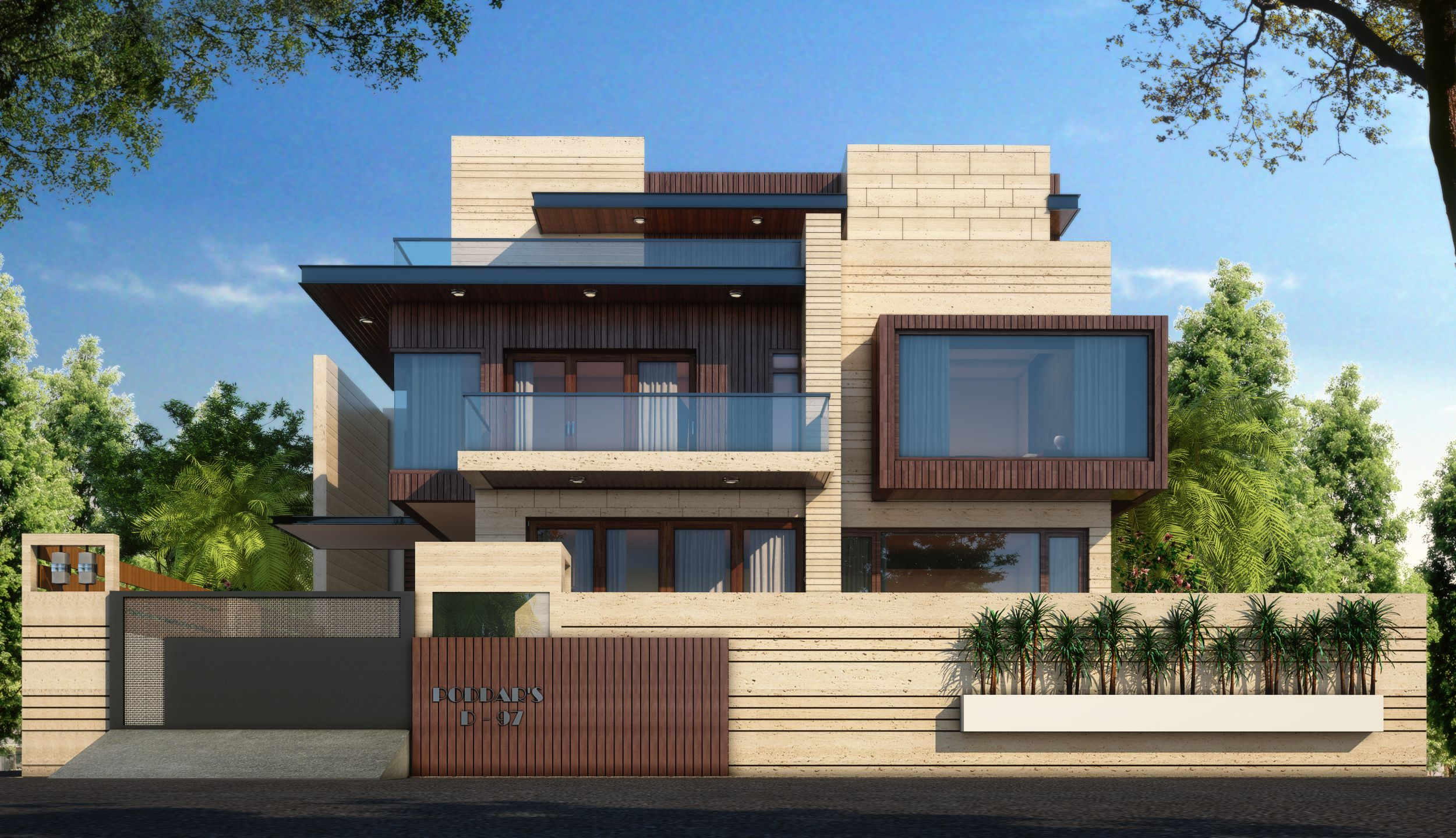 Boundary Wall FOR HOUSING Google Search Boundary Wall Design