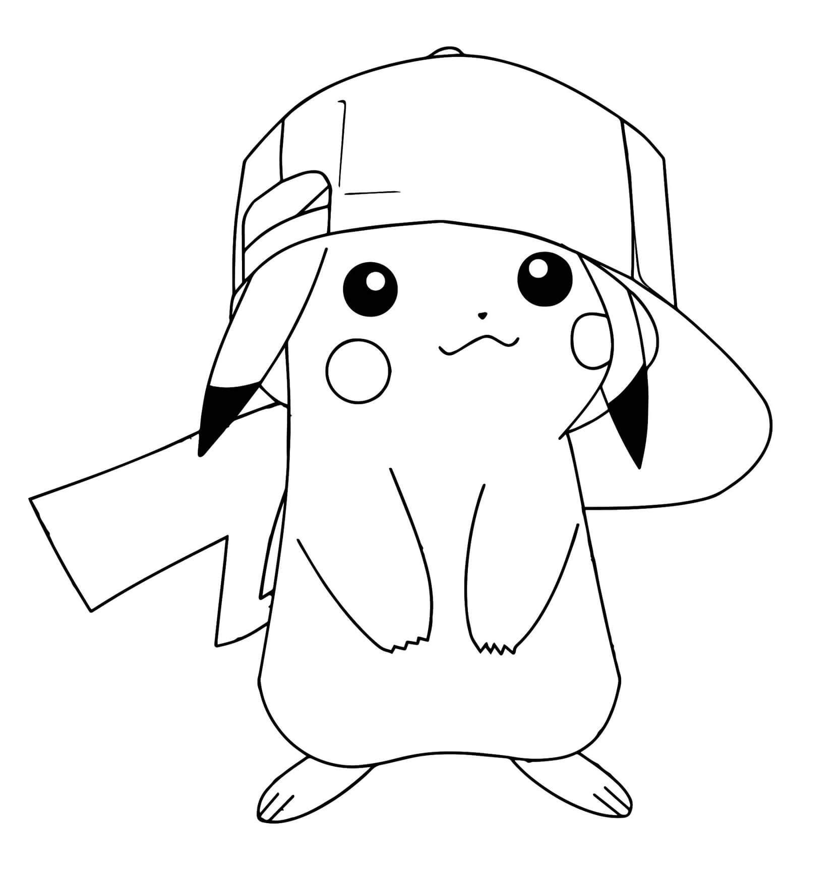 Pikachu-Ausmalbilderjpg (1646×1725) pikachu Pinterest