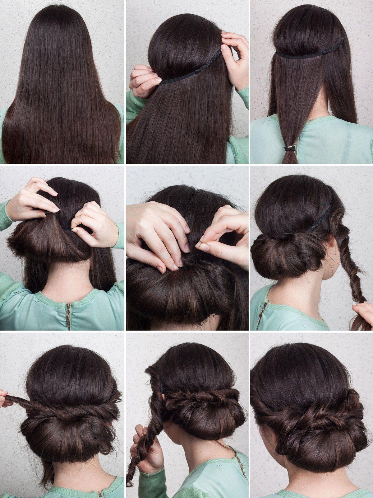 Absolute Trendfrisur In Nur 2 Minuten! Haarknoten Haarklemmen