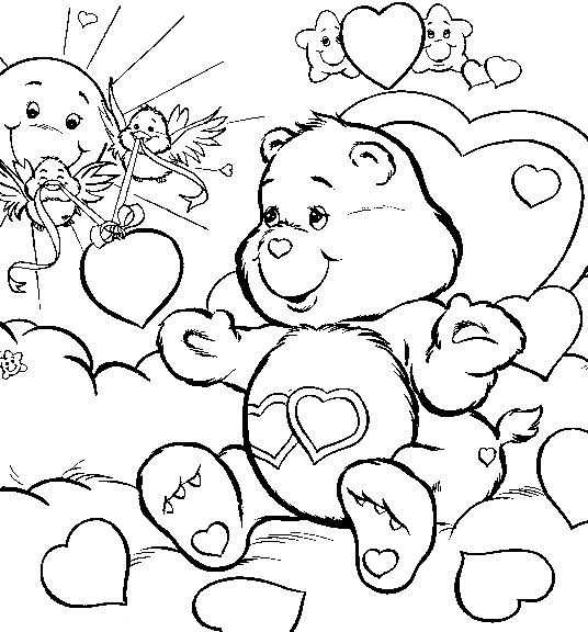 free adult coloring downloads asian care bears love free printable coloring