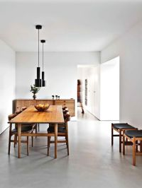 BEAUTIFUL FLOOR INSPIRATION   Minimalist dining room ...