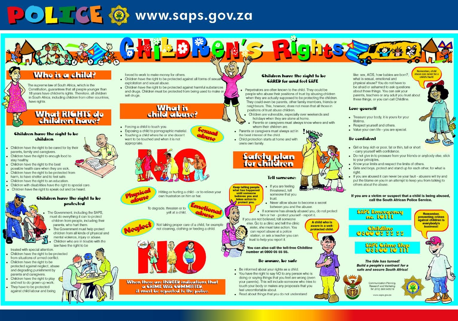 Children S Rights Pamphlet From South Africa