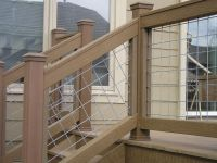 hog wire deck railing plans - Google Search | Outdoor ...