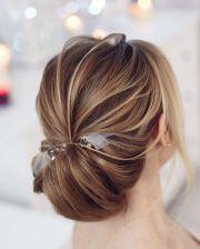 pretty chignon hairstyle