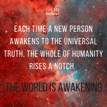 Time Person Awakens Universal Truth