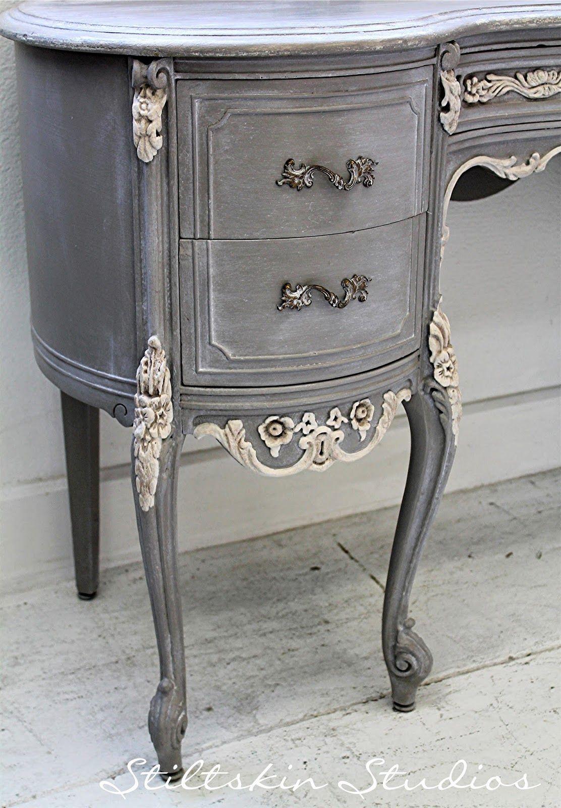 grey painted chairs revolving chair repair in jaipur stiltskin studios weathered french desk always love