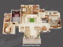 Free Home Design Plans 3d Wallpaper Desktop