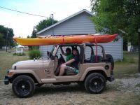 Wrangler with Kayak(s), Roof Rack - JeepForum.com | Jeep ...
