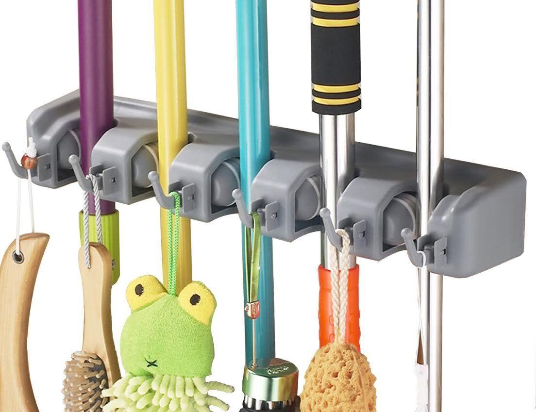 Amazon.com : iHomeSet Mop and Broom Holder