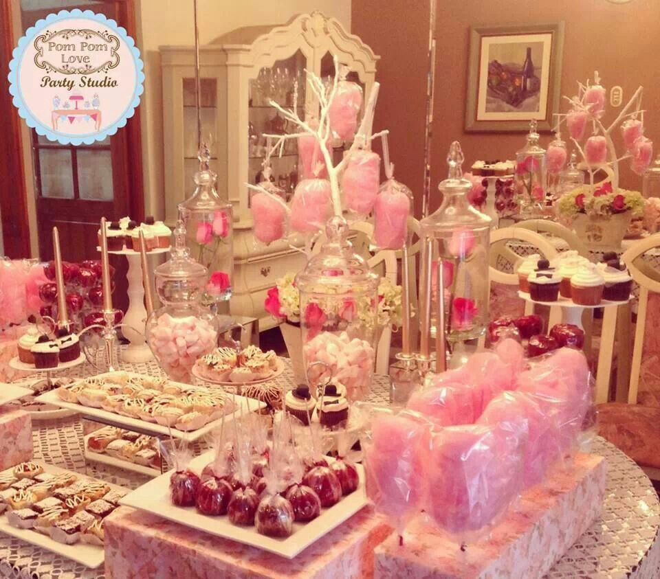 Candy Table  50th Birthday Party  Pinterest  Candy