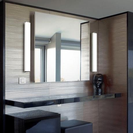 bathroom mirror with vertical side lights  Mirror mirror