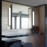 bathroom mirror with vertical side lights | Mirror, mirror ...