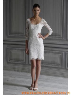 Romantische Kurze Liebste Hochzeitskleider Aus Spitze Dresses