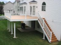 Deck Stairs Designs | Deck With Stairs Design For Exterior ...