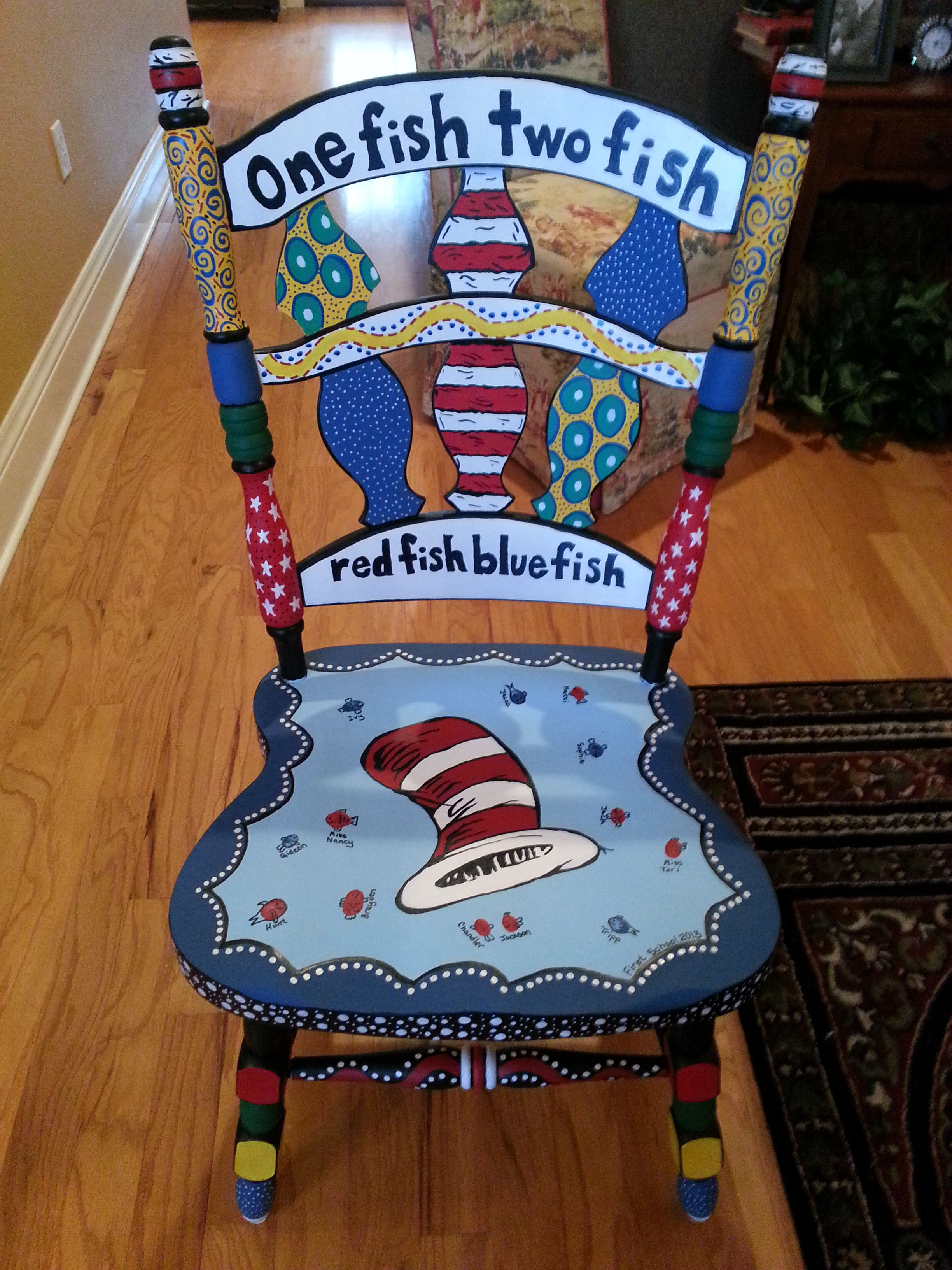 Teacher Chair Just Finished This Chair For A Preschool Teacher Friend Of