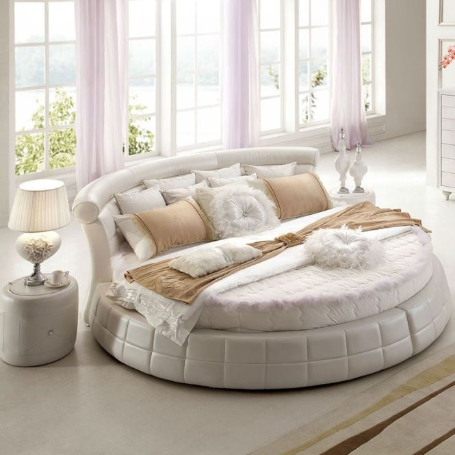 Round Shaped Mattresses Bed King Size Prices Ob1156