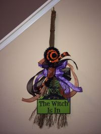 Halloween Witch Broom craft | cute Halloween decoration ...