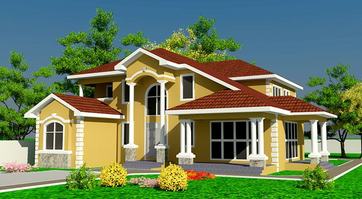 Architectural Designs Africa House Plans Ghana House Plans