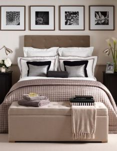 Bedrooms also neutral hotel chic bedroom this uses soothing rh za pinterest