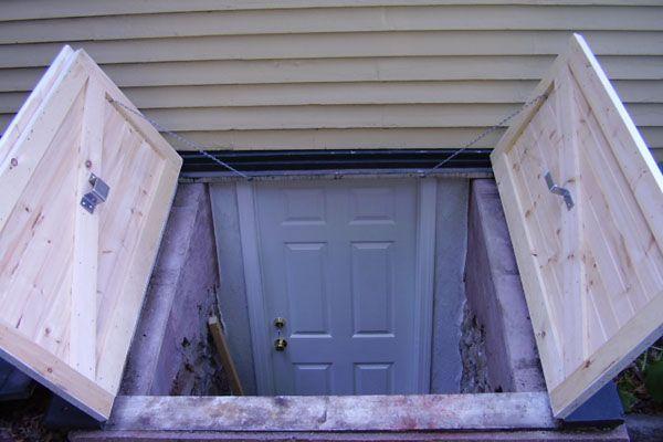 Bulkhead Doors for Exterior Backyard Basement