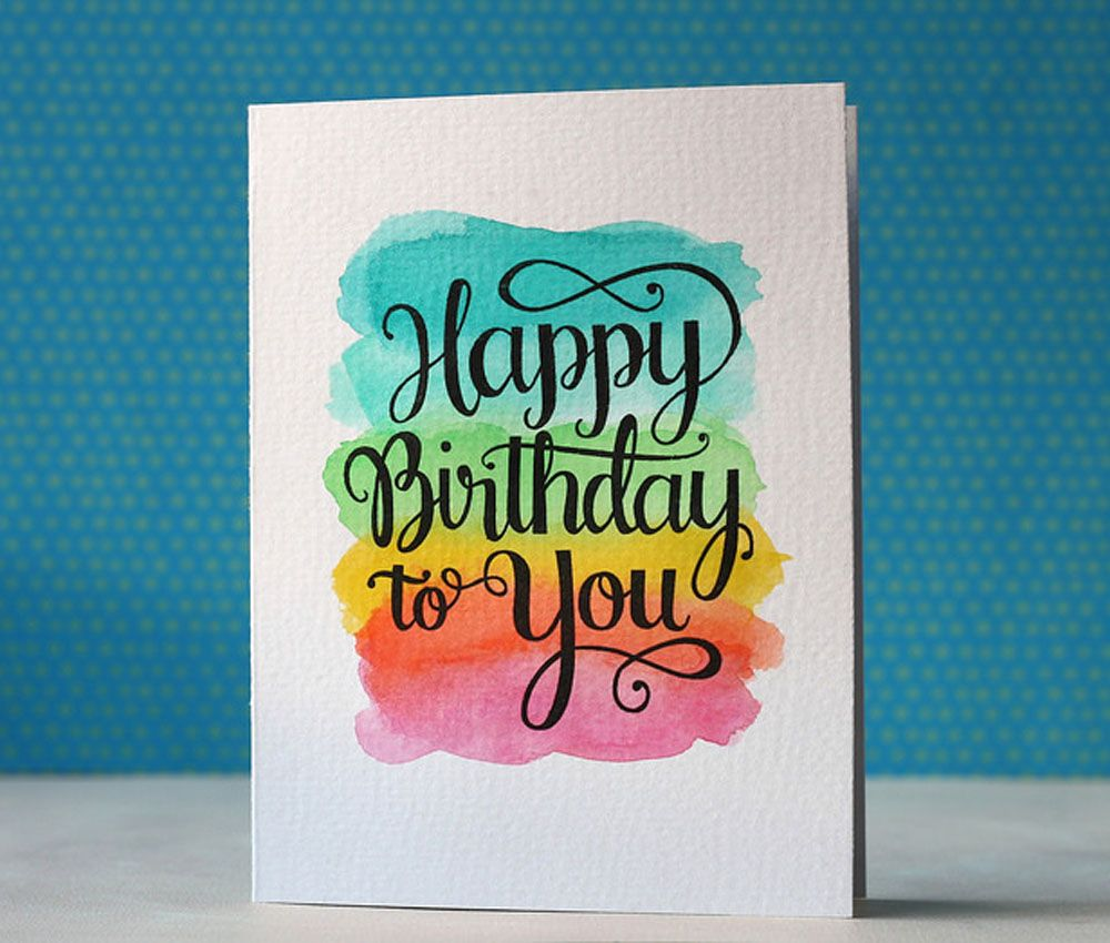 Cool Ways Write Happy Birthday