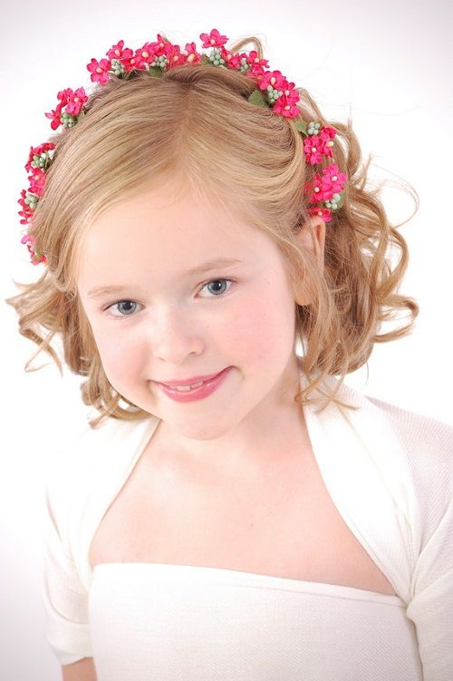 Cute Hairstyles For Kids Girls With Short Hair For Party New
