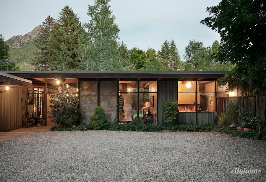 Salt Lake Mid Century Modern Home 14 Outdoors Pinterest Mid