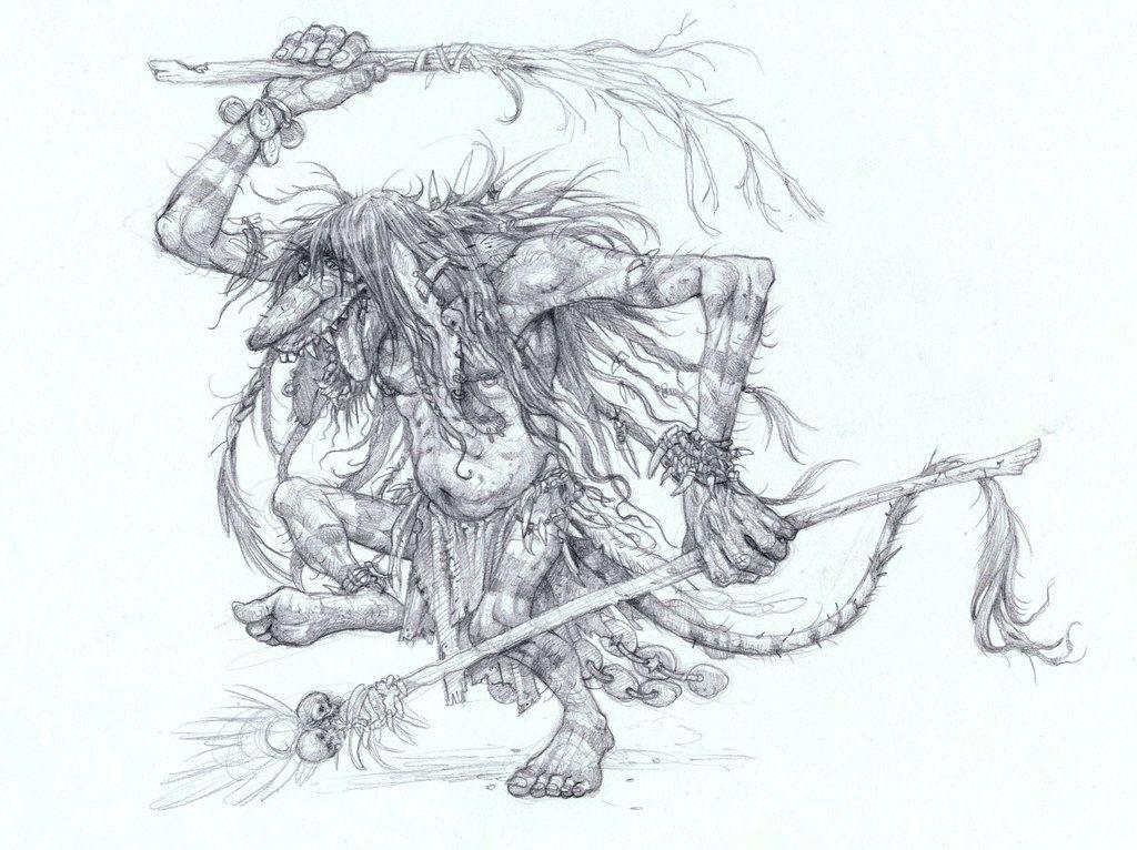 Troll Witch Doctor by ~SteampunkTyki on deviantART branch