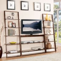 Contemporary Leaning Bookcase Ideas: Minimalist Leaning ...