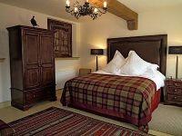 The Byre cottage, Tartan bedroom | Bedroom | Pinterest ...