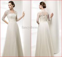 Empire Waist Wedding Dress With Sleeves | www.pixshark.com ...
