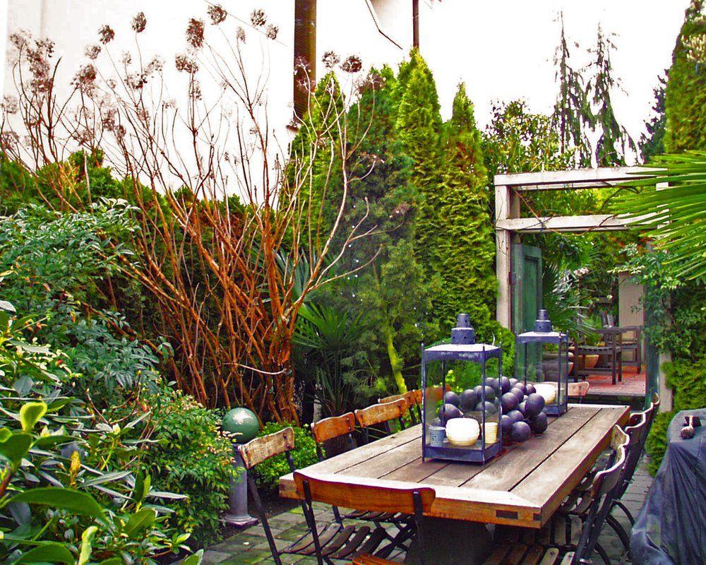 Garden And Patio Shady Narrow Side Yard Patio Garden House Design