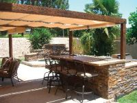 outdoor-kitchen | Canopy, Backyard and Kitchens